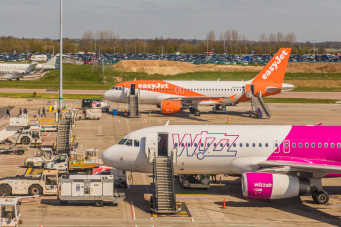London Luton Airport is a hub for easyJet.